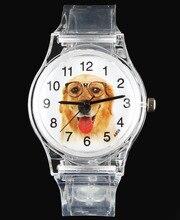 Pug / Beagle / Saint Bernard / Papillon / Golden Retriever Terrier Bull Dog / Cat Pet Cartoon Children Kids Watches Quartz Watch