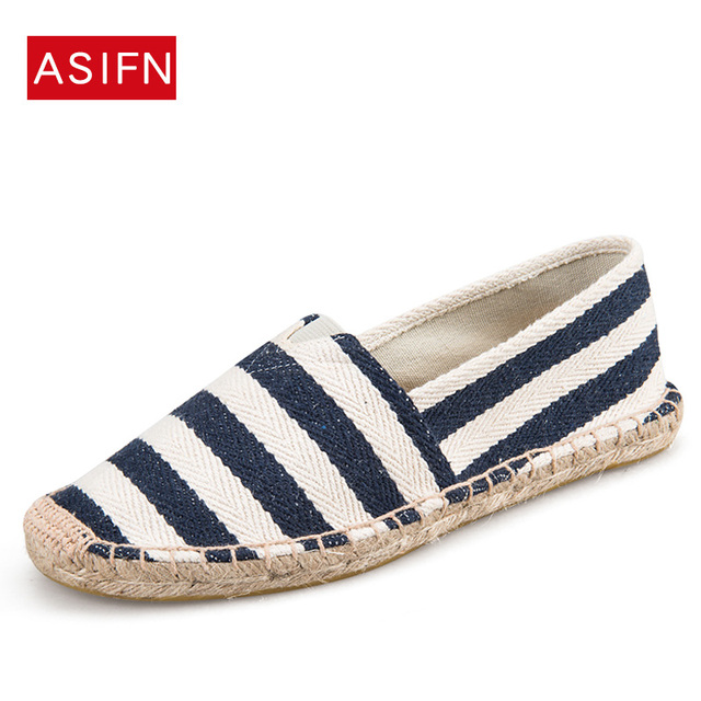 9cf087cd92036 Women Shoes Women Sneakers Unisex Espadrilles Patchwork Suede weave Rope  Comfortable Flats Loafers Zapatos Mujer Plus size 35-44