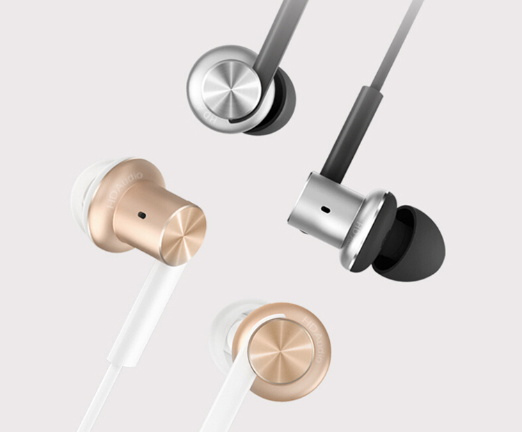 100% original XiaoMi Hybrid earphone Mi In-Ear Earphone Hybrid Piston with Microphone For iPhone Android Phones Drop shipping ��аушники xiaomi xiaomi m2 iphone samsung mp3 xiaomi piston earphone