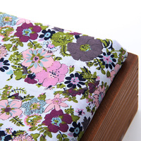 100 Cotton Printing Green Women DIY Hand Craft Sewing Cloth Skirt Fabric Tilda Christmas Decoration Patchwork