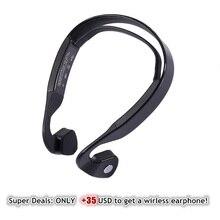 Für Frauen Männer Besten Outdoor Sports Geschenk Smart Knochen Condution Bluetooth Headset Täglichen Lauf Fahren Arbeiten Kopfhörer Mit Mic