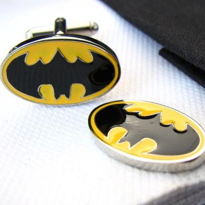 желтый бэтмен анимированные серии запонки необычные запонки оптовая