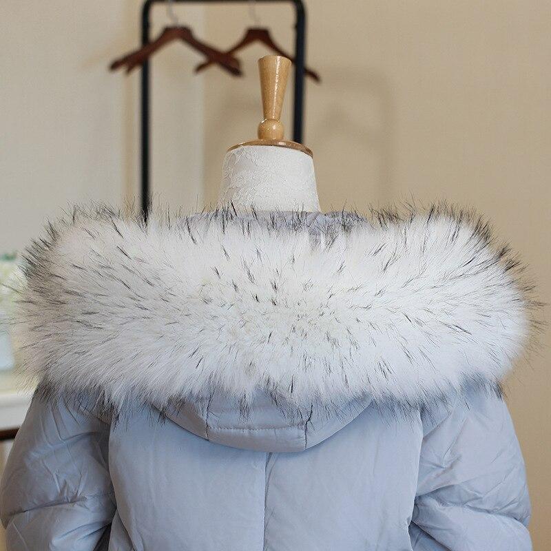 faux fur mink Scarf Women Warm