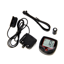 1 Set Waterproof 15 Function LCD Bike Bicycle Odometer Speedometer Cycling Speed Meter