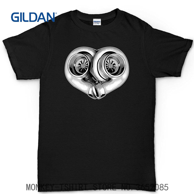 GILDAN Brand Cotton Men Clothing Male Slim Fit T Shirt Love Turbo Rally Racer Sti Wrx Evolution T Shirt