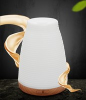 Siêu âm Humidifier Aromatherapy Oil Diffuser Mát Mist Với Màu LED Đèn essential oil diffuser Không Dùng Nước Auto Shut-off
