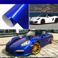 50 200cm Chrome Mirror Vinyl Wrap Cover Film Car Vehicle External DIY Waterproof Protective Wrapping Sticker