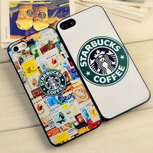 1 piece Starbucks coffee phone case iphone 5 5G 5S protective apple 5,Frosted shell - Ebayshop Electronic Co., Ltd store
