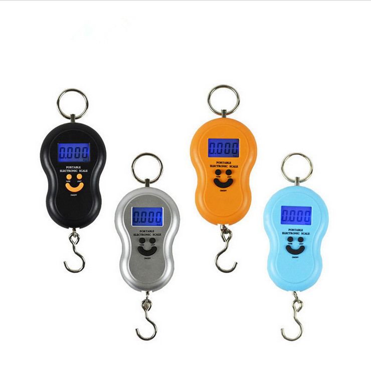 Special offer authentic portable portable hoist hook scale express said gourd scale electronic said manufacturers 50kg