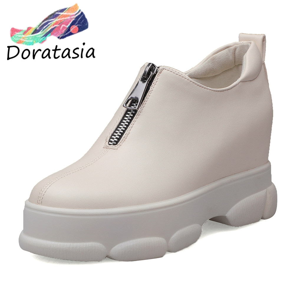 DORATASIA Pumps Women Platform-Shoes Autumn Height Girl Increasing New-Brand