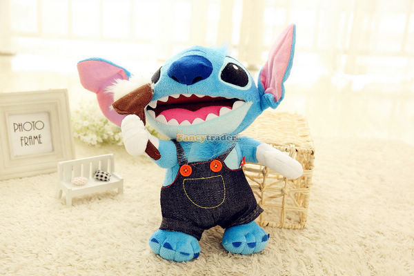 ФОТО Fancytrader 2015 New Kawaii Stitch Toy 21'' / 55cm Plush Stuffed Stitch Good Gift, 10 Models Available! Free Shipping FT90144