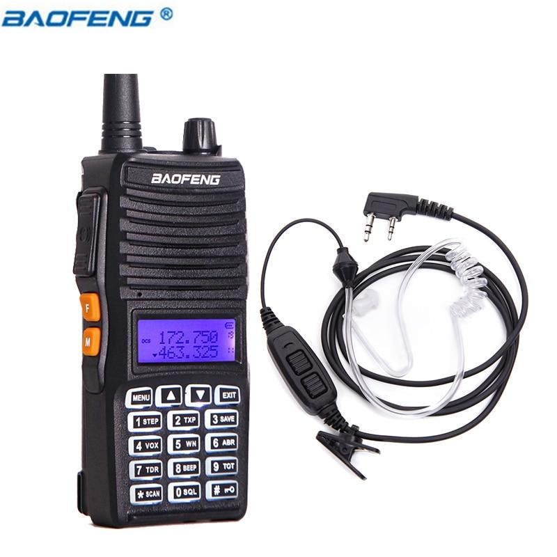 Baofeng UV-82 8 W Haute Puissance Puissant Talkie Walkie 10 km longue portée UV 82 Two Way Radio cb Émetteur-Récepteur radio (Mise À Niveau de BF UV82)