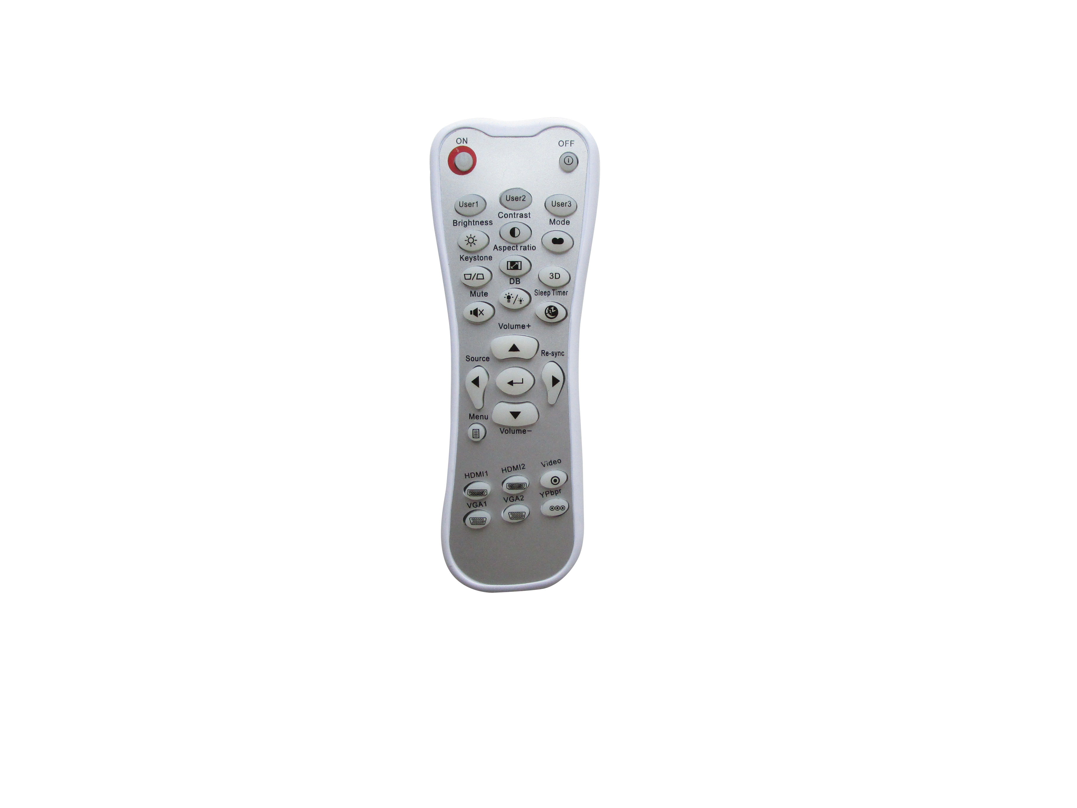 1 Replacement Remote Control Compatible for Optoma HD65 HD640 HD70 HD70S HD71S HD75 HD71 Projector