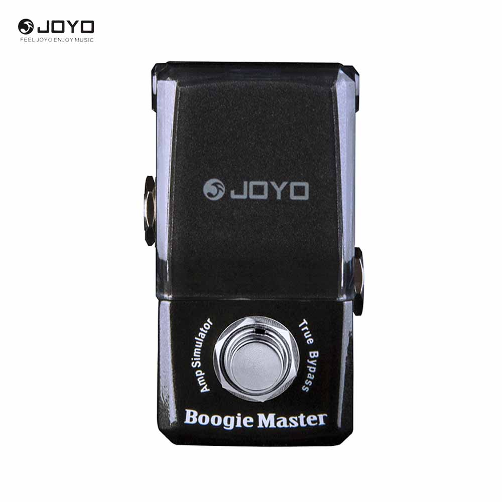 JOYO JF-309 Boogie Master Amp Simulator Modern Rock and Metal Sounds Mini Ironman Series Effect Pedal