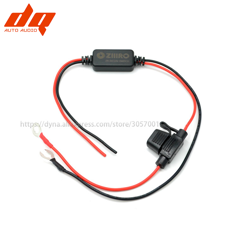 Car Daytime Running LED Light Intelligent Controller Cable Analog ACC Direct Connection Battery DC 13V Automatic Switch Line