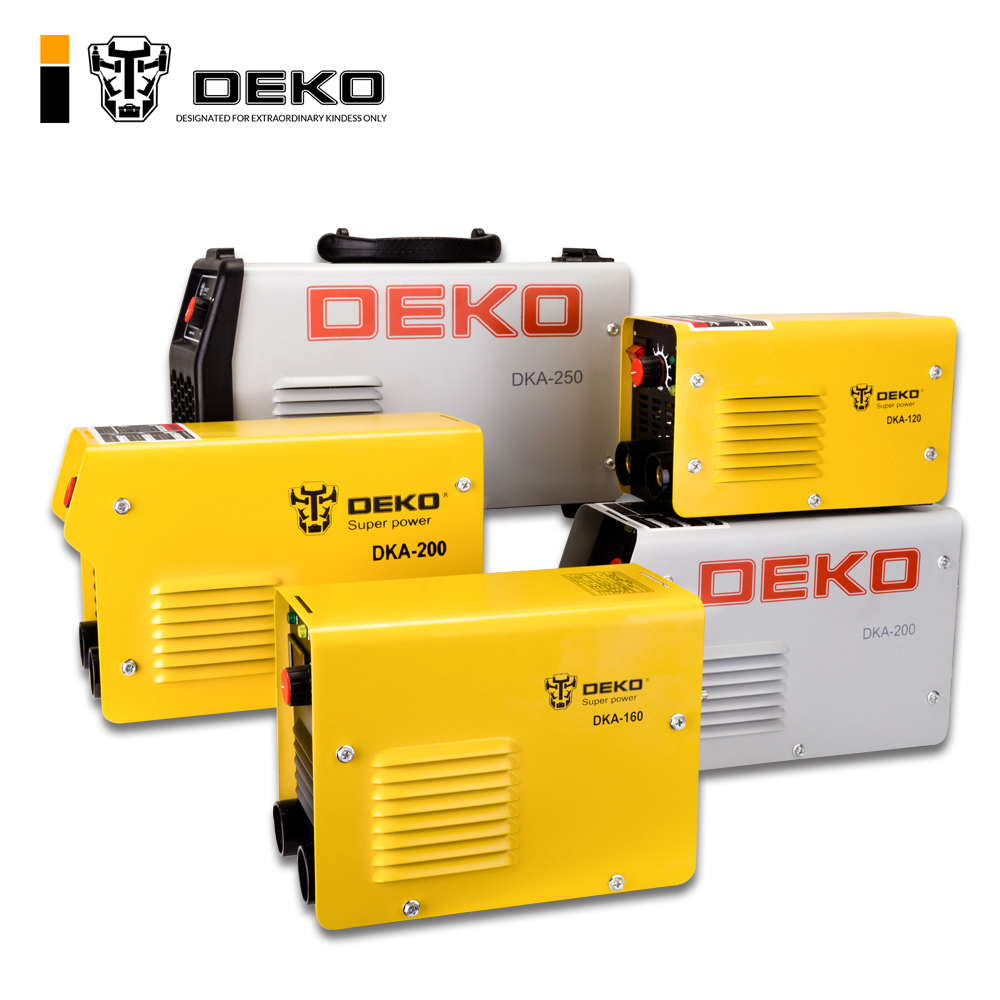 DEKOPRO 220V Inverter  Arc Electric Welding Machine MMA Welder for Soldering Welding and Electric Working