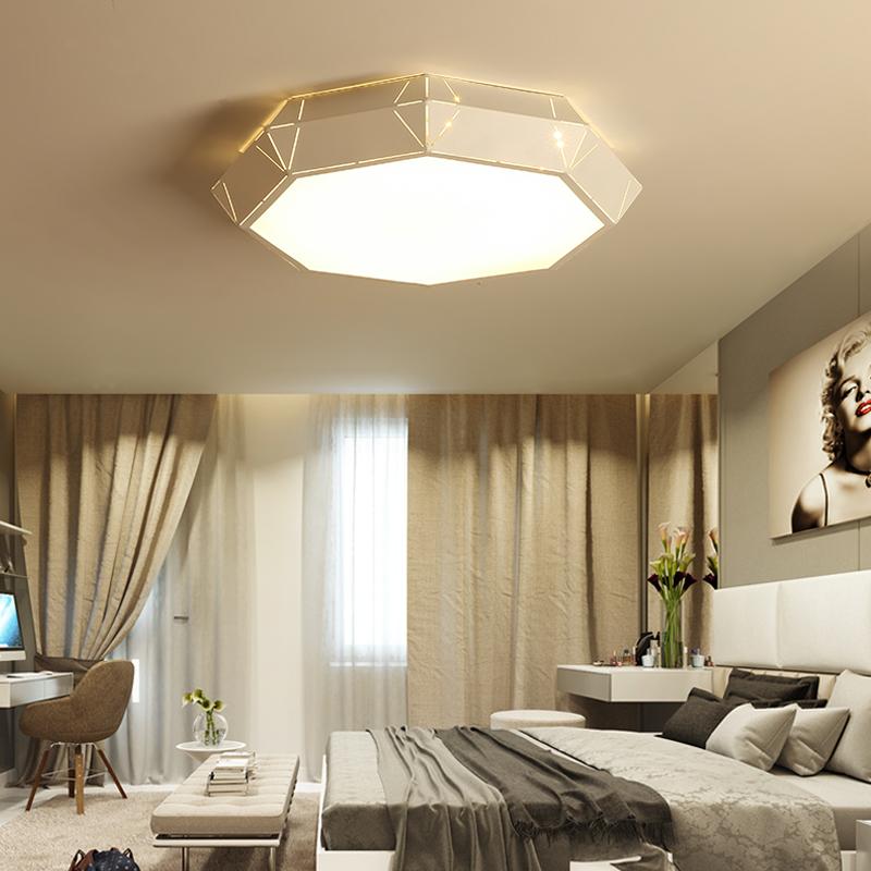 luz de techo iluminacin interior creativo arco de acrlico lmpara moderna llev la luz de techo para la sala de estar se encie