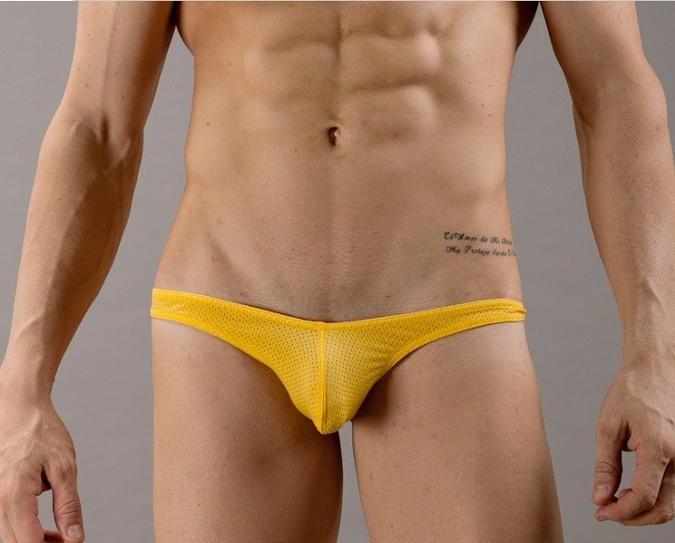 from Ares gay man in g string