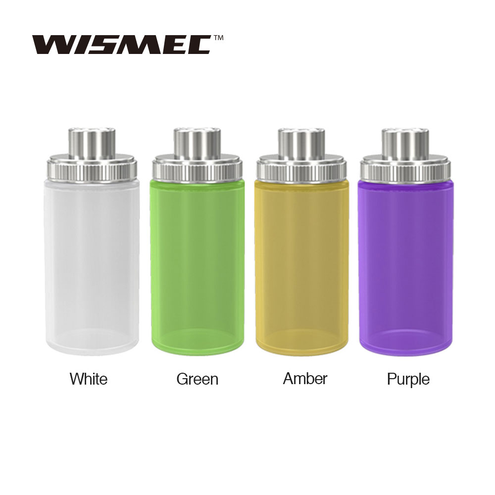 2pcs Original WISMEC Silicone Squeeze Bottle 6.8ml Huge Capacity For WISMEC Luxotic Kit WISMEC Silicone Squeeze Bottle Accessory