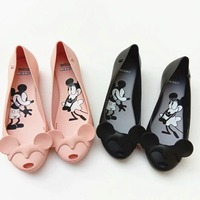 Melissa Ultragirl Mickey Minnie 2019 Melissa Shoes For Women Flat Sandals Women Jelly Shoes Adult Sandals Female Shoes