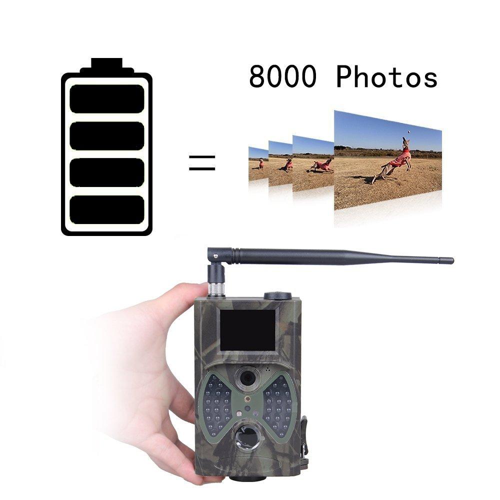 HC300M Trail Cameras 12MP 940nm NO Glow MMS GPRS Digital Scouting Hunting Camera Trap Game Cameras Night Vision Wildlife Camera (18)