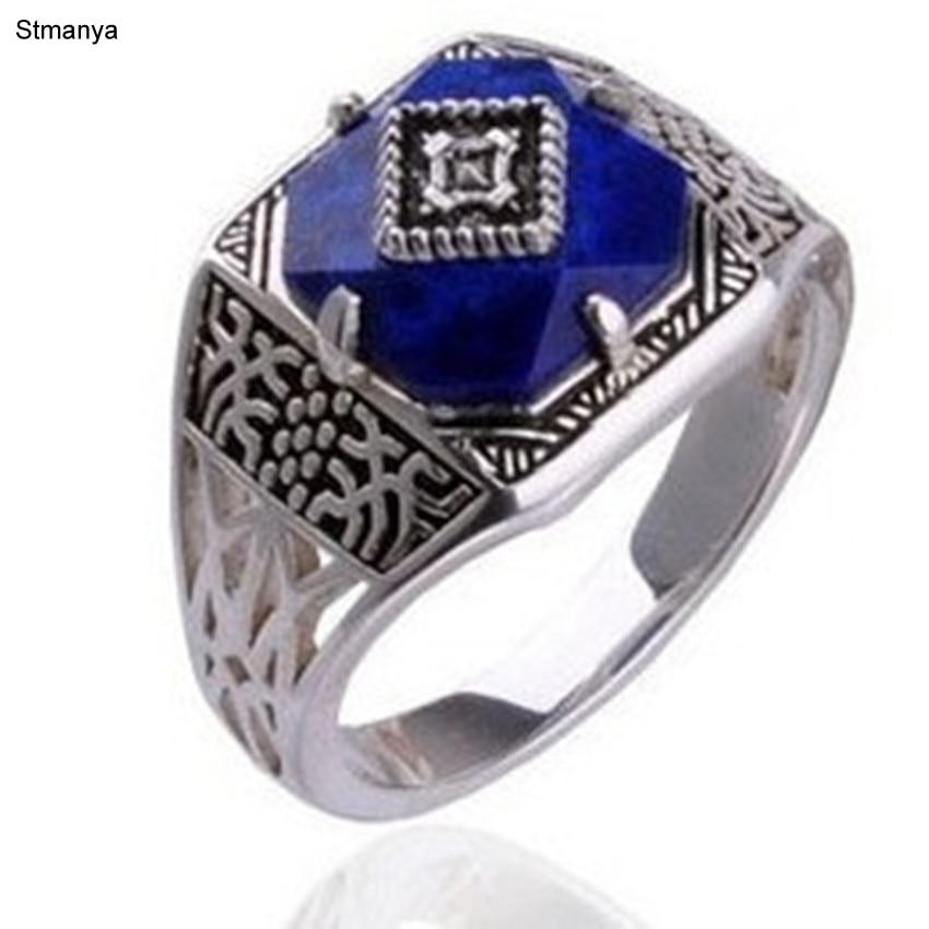 Prata caroline vampiro diários anel-vendas quentes anéis em movimento retro exagerada exagerada vintage anel de jóias #20009
