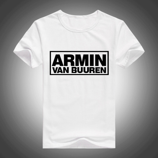 d6997759fd5 Free Shipping Music DJ Armin Van Buuren T Shirt Hiphop Rock T-shirt Armin  Van Tshirt Hip Hop T-shirts Quality Brand Top Tees