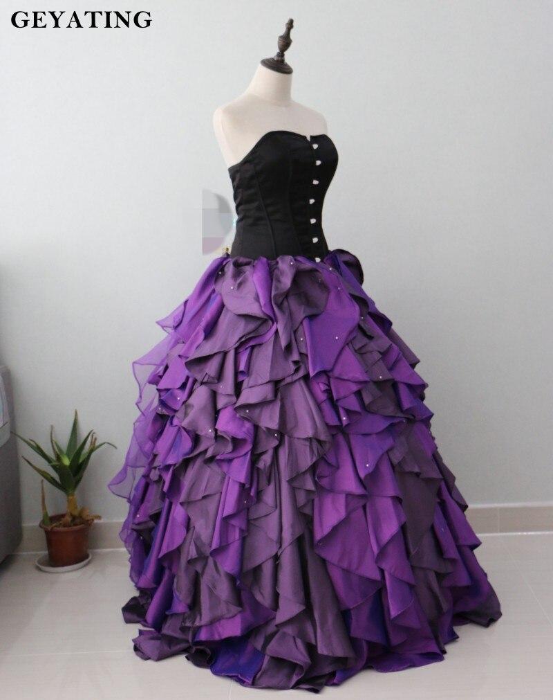 Increíble Vestido Negro Novia Ideas Ornamento Elaboración Festooning ...