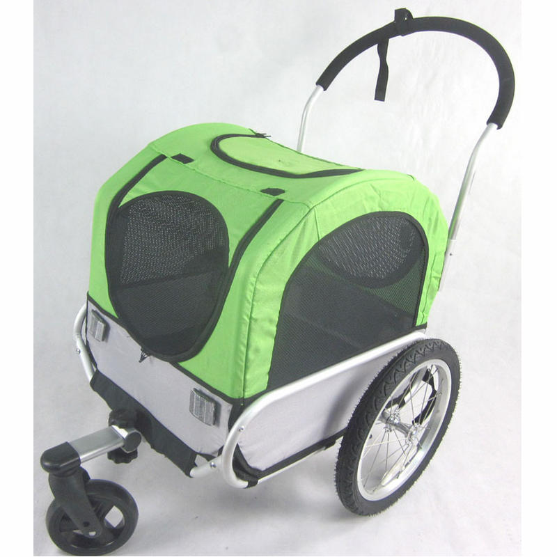 16 inch Aluminum Wheel 2 in 1 Pet Dog Bike Bicycle Trailer Stroller Jogger, Bicycle Trailer Dog Carrier Load 66lbs16 inch Aluminum Wheel 2 in 1 Pet Dog Bike Bicycle Trailer Stroller Jogger, Bicycle Trailer Dog Carrier Load 66lbs