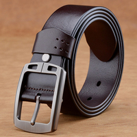 Fashion High Quality Brand Luxury Designer Genuine Leather Man Belt Casual Men S Leather Belt For