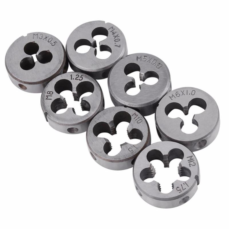 Image 4 - 32pcs/Set Alloy Steel Durable Metric Tap Die Plug Drill Bits M3 M4 M5 M6 M8 M10 Hand Tools for Professional Metalworking Quality-in Tap & Die from Tools