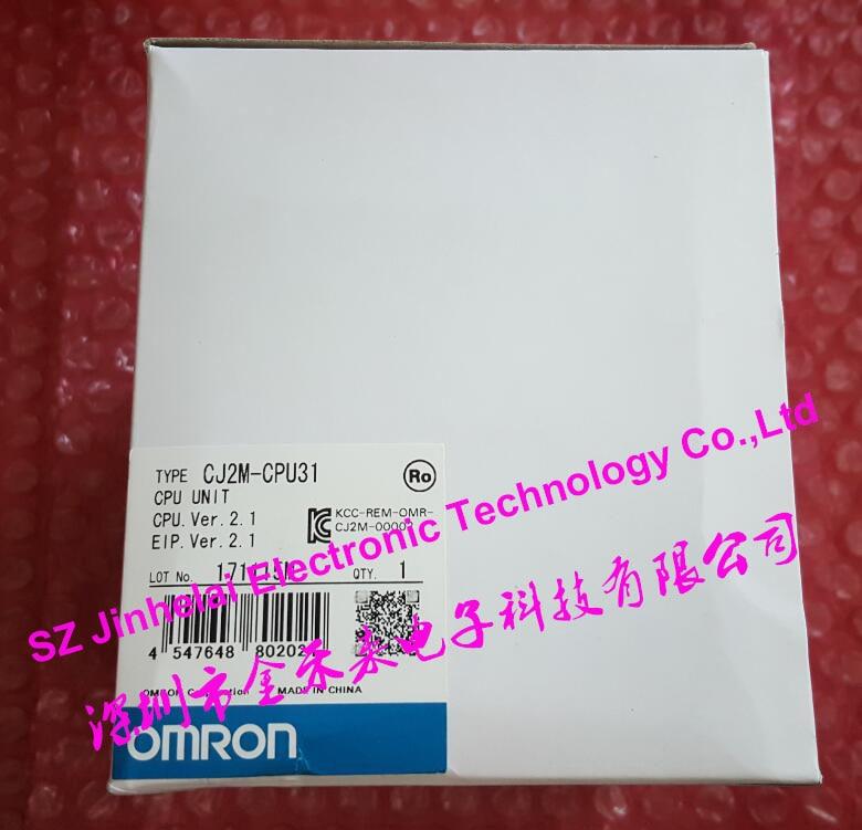 New and original CJ2M-CPU31 OMRON CPU UNIT [zob] 100% brand new original authentic omron omron photoelectric switch e2s q23 1m 2pcs lot