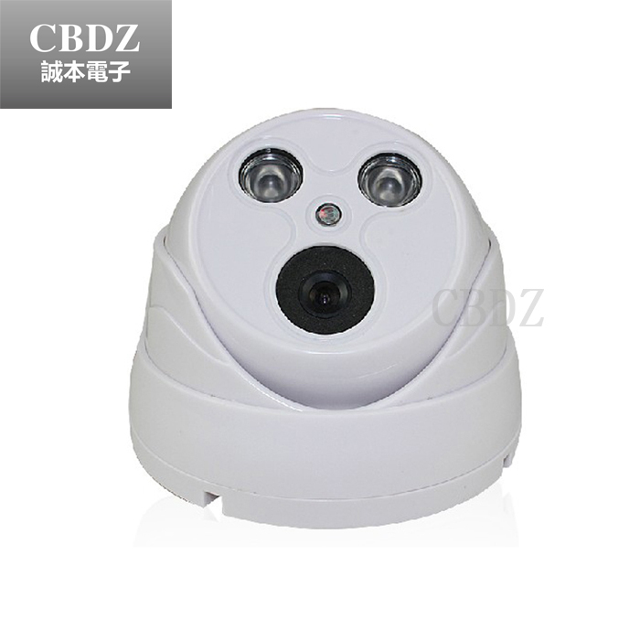 Hot Sale CMOS 800TVL CCTV BIG DOME Camera with nice Night Vision Infrared can reach 40M security camera free shipping hot selling 900tvl 1 4 cmos cctv camera night vision 24pcs infrared led light color image security camera with free shipping