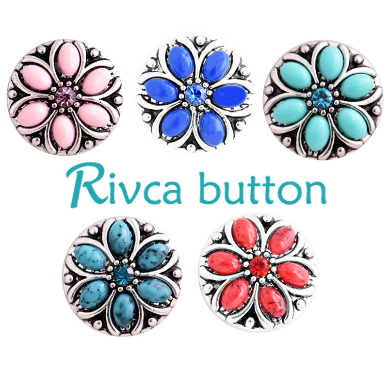 Charm Bracelets Jewelry & Accessories 2018 Rivca Snap Jewelry Newest Rhinestone Metal Snap Bracelets For Women Bangle Europe Beads Valentines Gifts D03268 Jewelry Discounts Sale