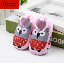Ladybug Baby Shoes Cotton Newborn First Walkers Soft Sole Anti-Slip baby moccasins