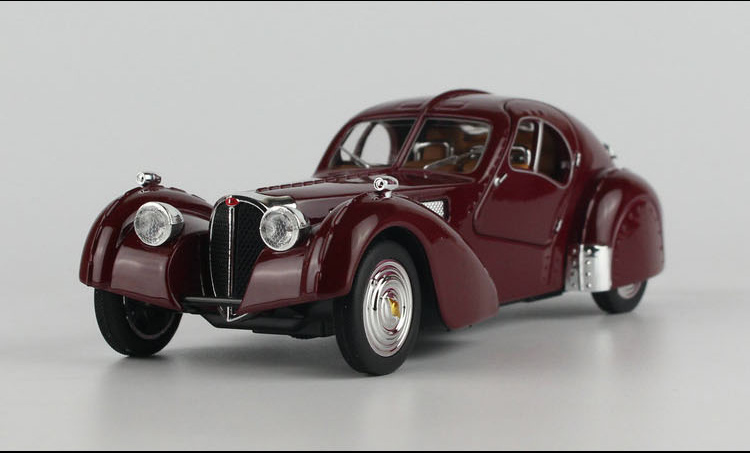 1:28 Light Music Vintage Car,Vintage Bugatti Roadster,Classic Retro Pull  Back Model,Diecast Metal Cars Toy,free Shipping In Diecasts U0026 Toy Vehicles  From ...