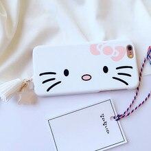Tassel Hello Kitty Back Cover