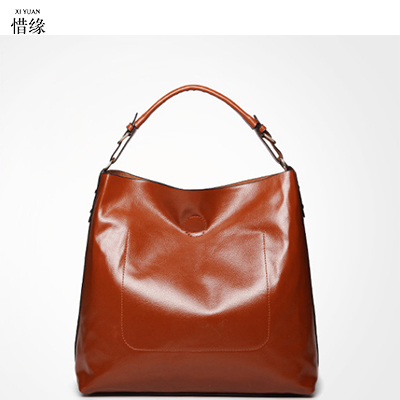 Famous Brand 100% Genuine Leather Bags Women Handbag Real Leather Tote Bag The First Layer Cowhide Shoulder Messenger Bags brown qiaobao 100% genuine leather women s messenger bags first layer of cowhide crossbody bags female designer shoulder tote bag