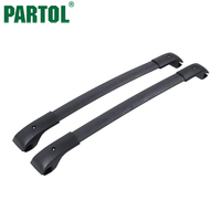 Partol Black Car Roof Rack Cross Bars Roof Luggage Carrier Roof Rail For Subaru XV Crossstrek