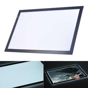 A2 Led ライトボックスパッド描画トレーストレーサーコピーボードテーブルパッドパネルコピーボードと無段階機能輝度制御 - DISCOUNT ITEM  20% OFF パソコン & オフィス