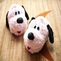 New Hot Autumn Winter Cartoon Dog Warm Home Women Plush Slippers Thermal Soft Cotton Animal Dog Slippers Indoor\Floor Flat Shoes