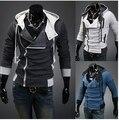 Одежда мужчины в закрытый воротник балахон куртка пальто кардиган приталенный закрытый воротник кардиган приталенный пальто 4XL