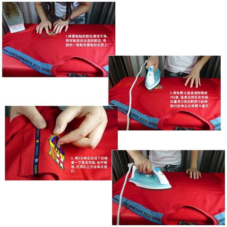 100 шт./лот, вышитые нашивки, нашивки с вышитыми буквами, Значки для детской одежды, наклейки, аксессуары для шитья