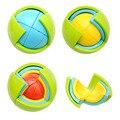 Новый 3D DIY Магия Интеллект Головоломки Лабиринт Мяч Логические игры Образования для Детей IQ Обучение Логические Головоломки Детские Игрушки подарки