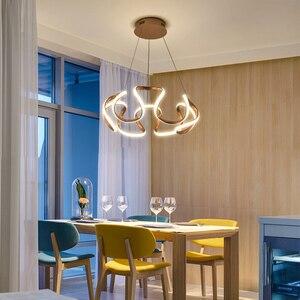 Image 3 - Kronleuchter led Moderne leuchten für hoome esszimmer wohnzimmer dekorative Küche restaurant hängen overhead kronleuchter lampe