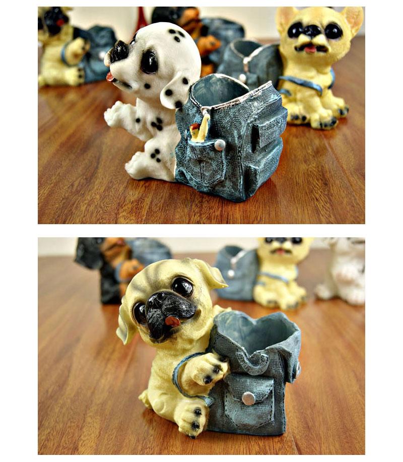 dog figurines (4)