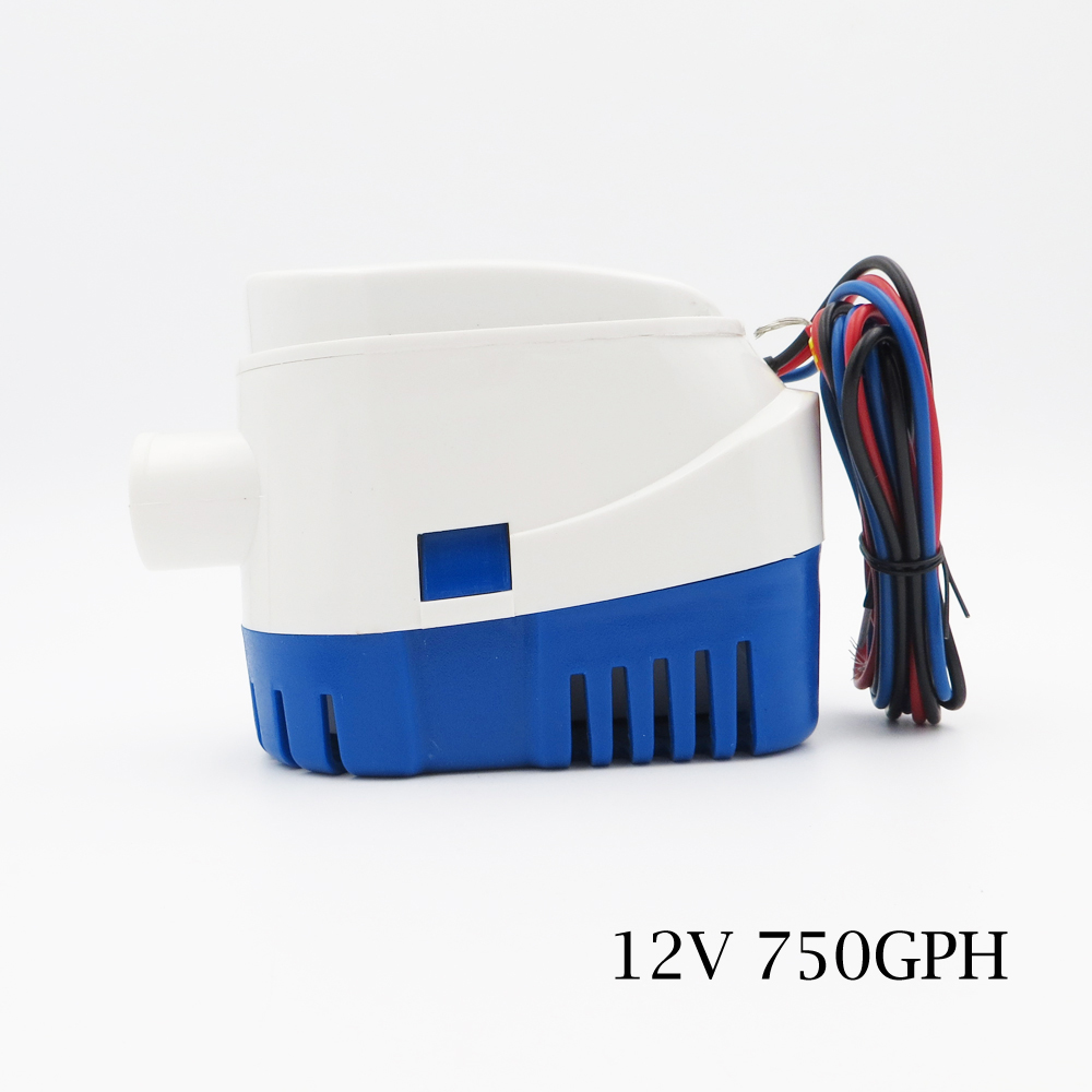 12V 3.8A 750GPH Automatic Bilge Pump,Submersible Boat Water Pump,Electric Pump