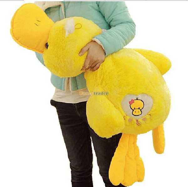 Fancytrader 39\'\' 100cm Lovely Stuffed Giant Plush Yellow Rubber Duck, Free Shipping FT50268 (3)