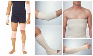 Image 4 - Hình ống thun y tế Polymer thạch cao sock phụ trợ nén băng cotton chân tay Vớ tĩnh mạch chân băng đô