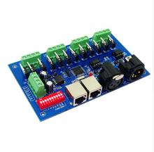 цена на best price 1 pcs 12 channel Max 3A 4 groups with(XLR RJ45) dmx512 decoder Controller use for led strip light